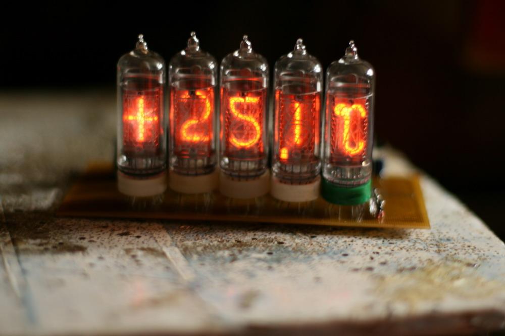 термометры на таких лампах