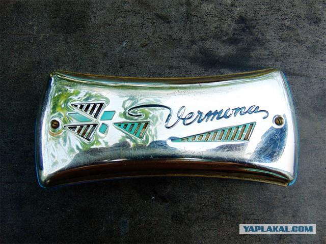 Губная гармошка Vermona 40-50х годов