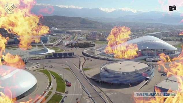 ИГИЛ опубликовали видео, где бомбят стадионы чемпионата мира по футболу в России