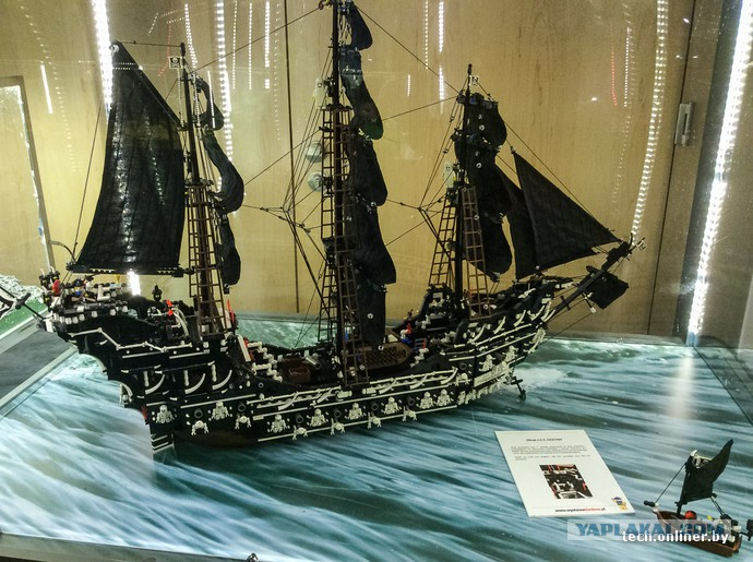 Выставка Лего в Варшаве - ЯПлакалъ