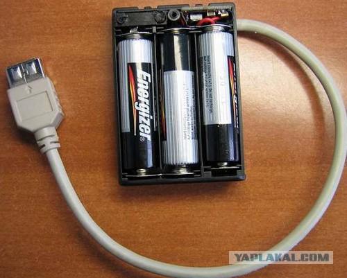 Зарядка для мобильной батареи своими руками