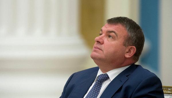 Сердюков стал индустриальным директором
