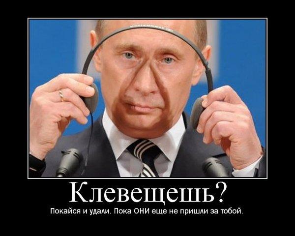 За оскорбление его величества Путина