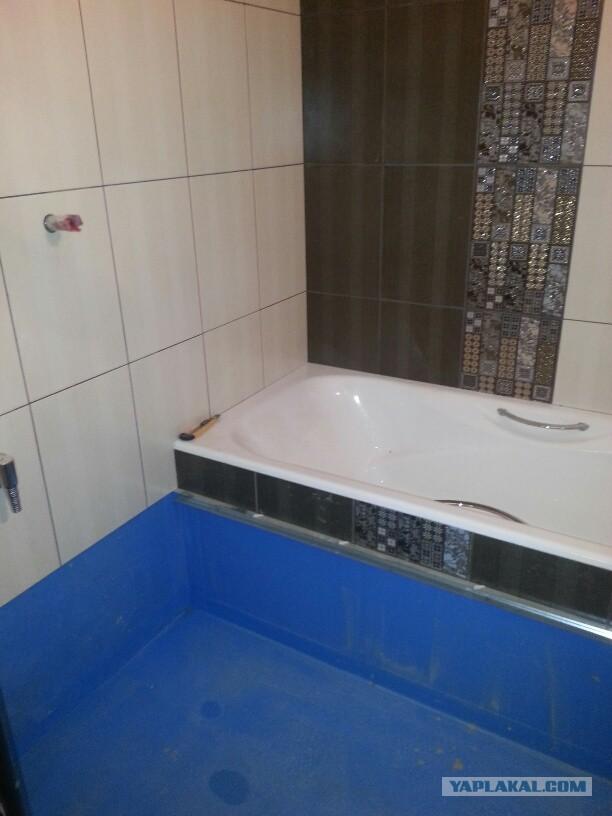 Ремонт ванной комнаты собственными силами с нуля
