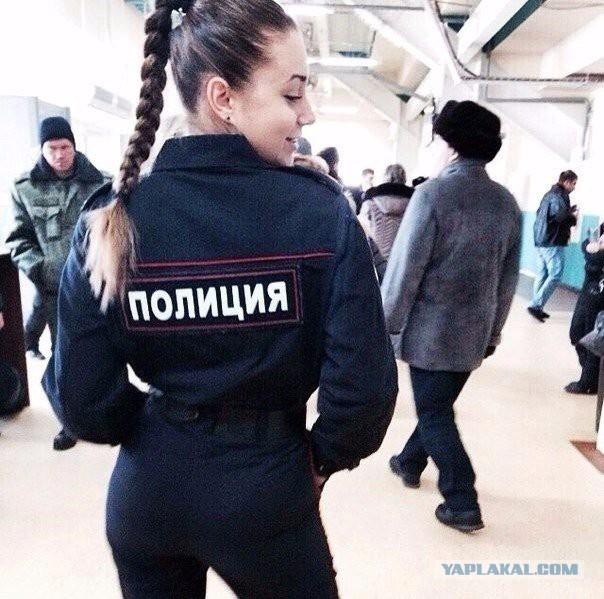 Фото девушек в полицейской форме на аву