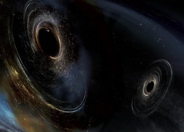 Учёные зафиксировали столкновения чёрных дыр