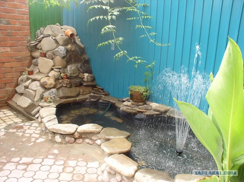 Как сделать водоем во дворе своими руками 95