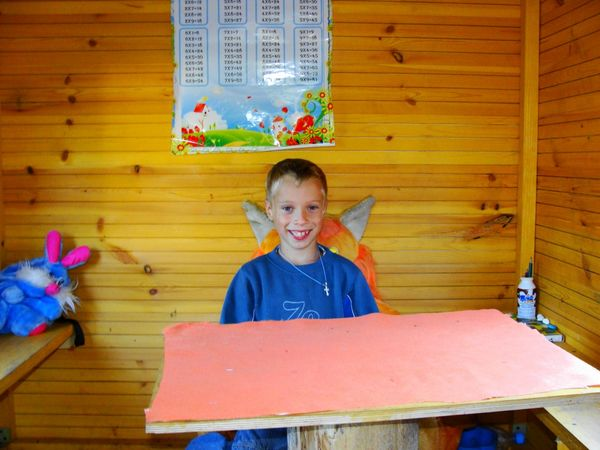 Детский домик своими руками