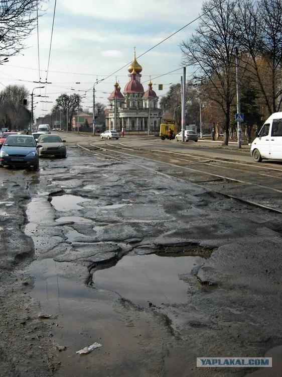 """С начала года устранено 4 млн квадратных метров деформаций и ям на дорогах, - """"Укравтодор"""" - Цензор.НЕТ 8301"""