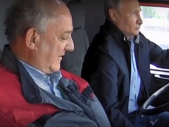 Нарушил ли Путин ПДД, управляя Камазом не пристегнув ремень безопасности?
