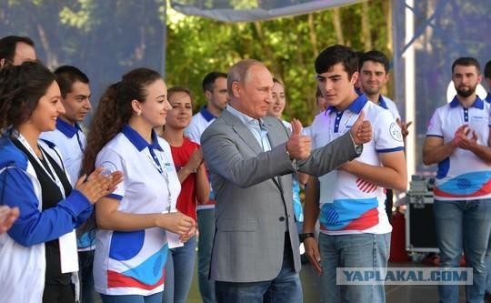 Чеченская молодежь отказалась убираться к приезду Путина в лагере «Машук»