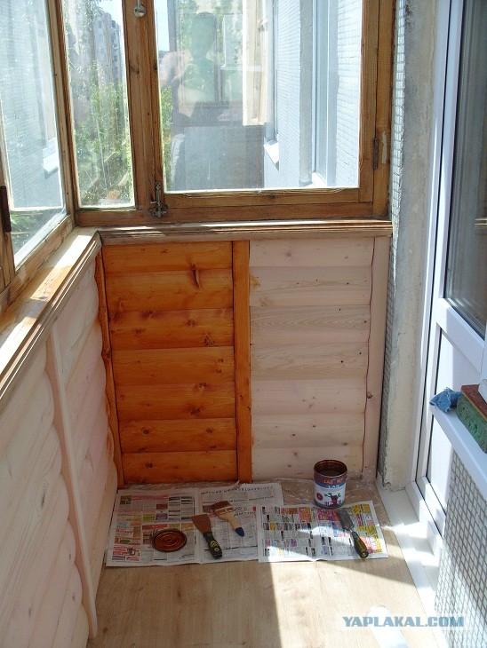 Косметический ремонт балкона. - Яплакалъ.