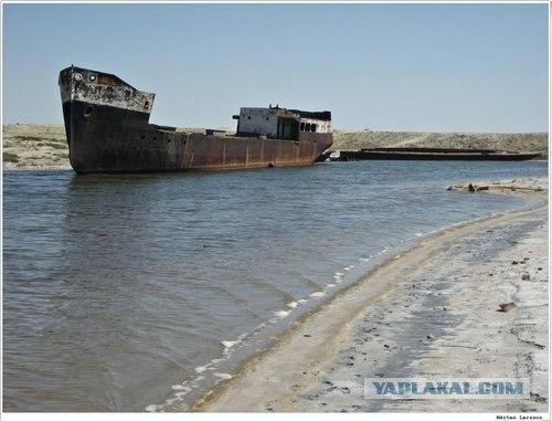 Здесь когда-то было море (28 фото+видео)