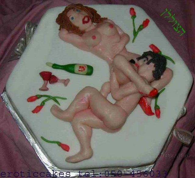 Порно торт фото