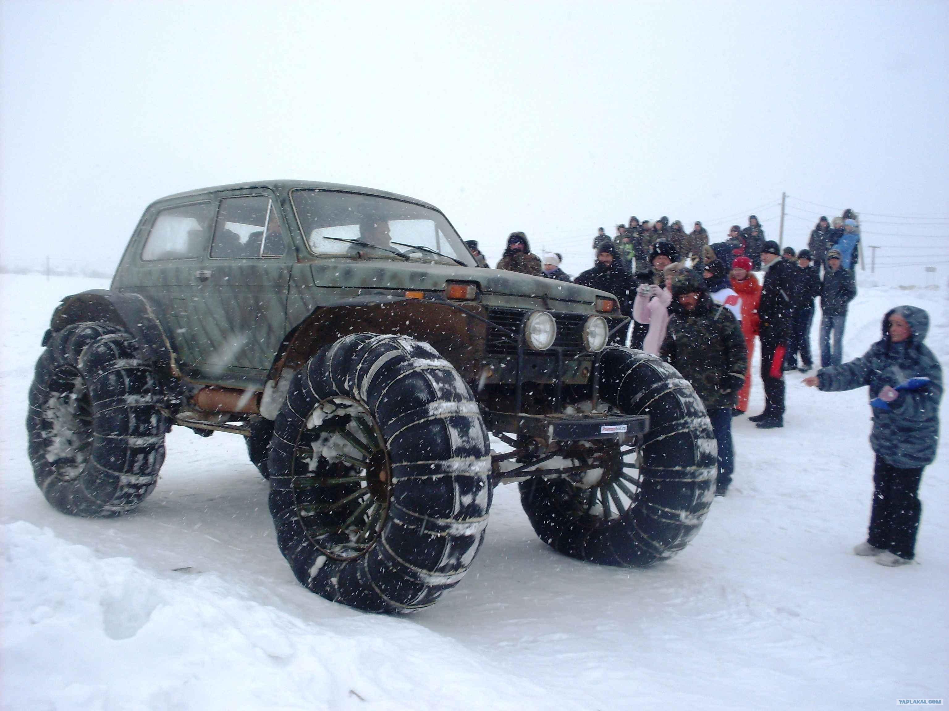 Вездеход на больших колёсах своими руками 76