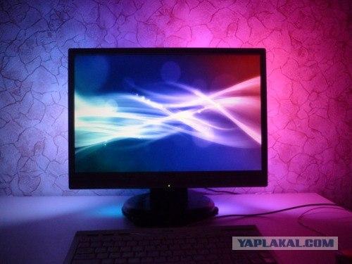 Светодиодная подсветка в мониторе своими руками