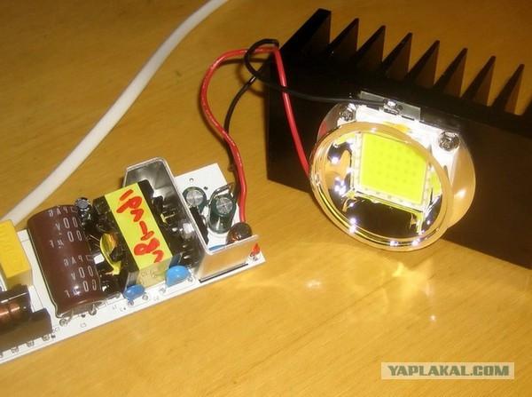 Драйвер для 100 ватт светодиода своими руками