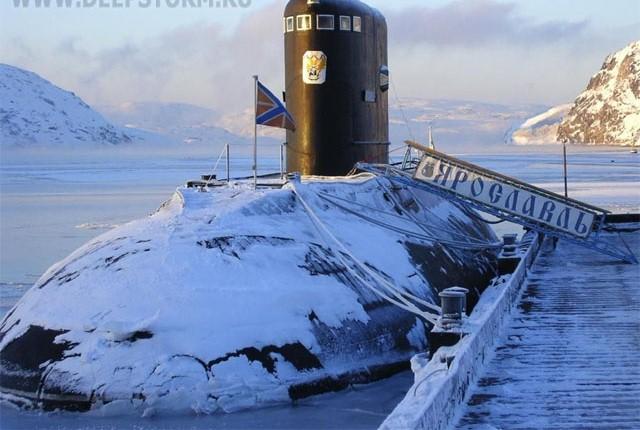 бригада подводных лодок северодвинск