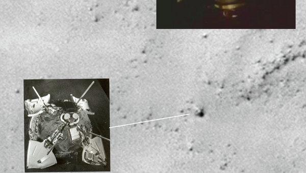 """Зонд НАСА разглядел """"Марс-3"""""""