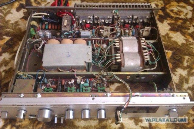 Усилитель ''Радиотехника У-101-стерео''.