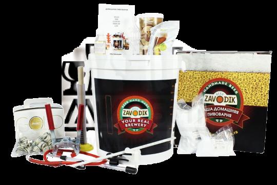 Пивоварня Beer Zavodik Premium + Зерновой набор