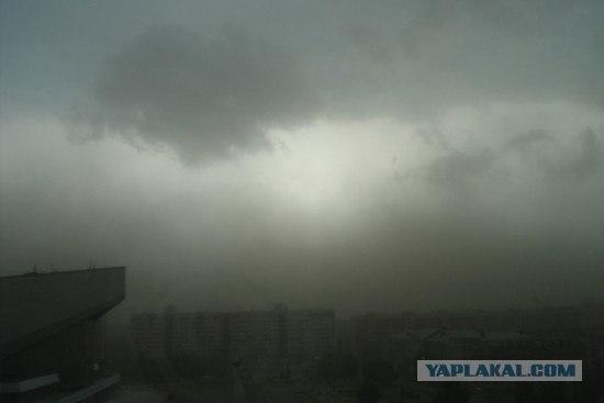 Буря в Омске