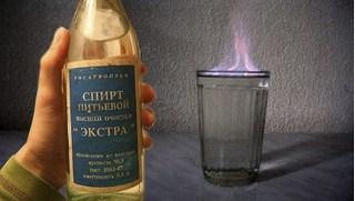 Как сделать спирт чистый