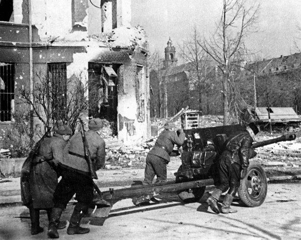 В гарнизоне Бреслау.1945 год