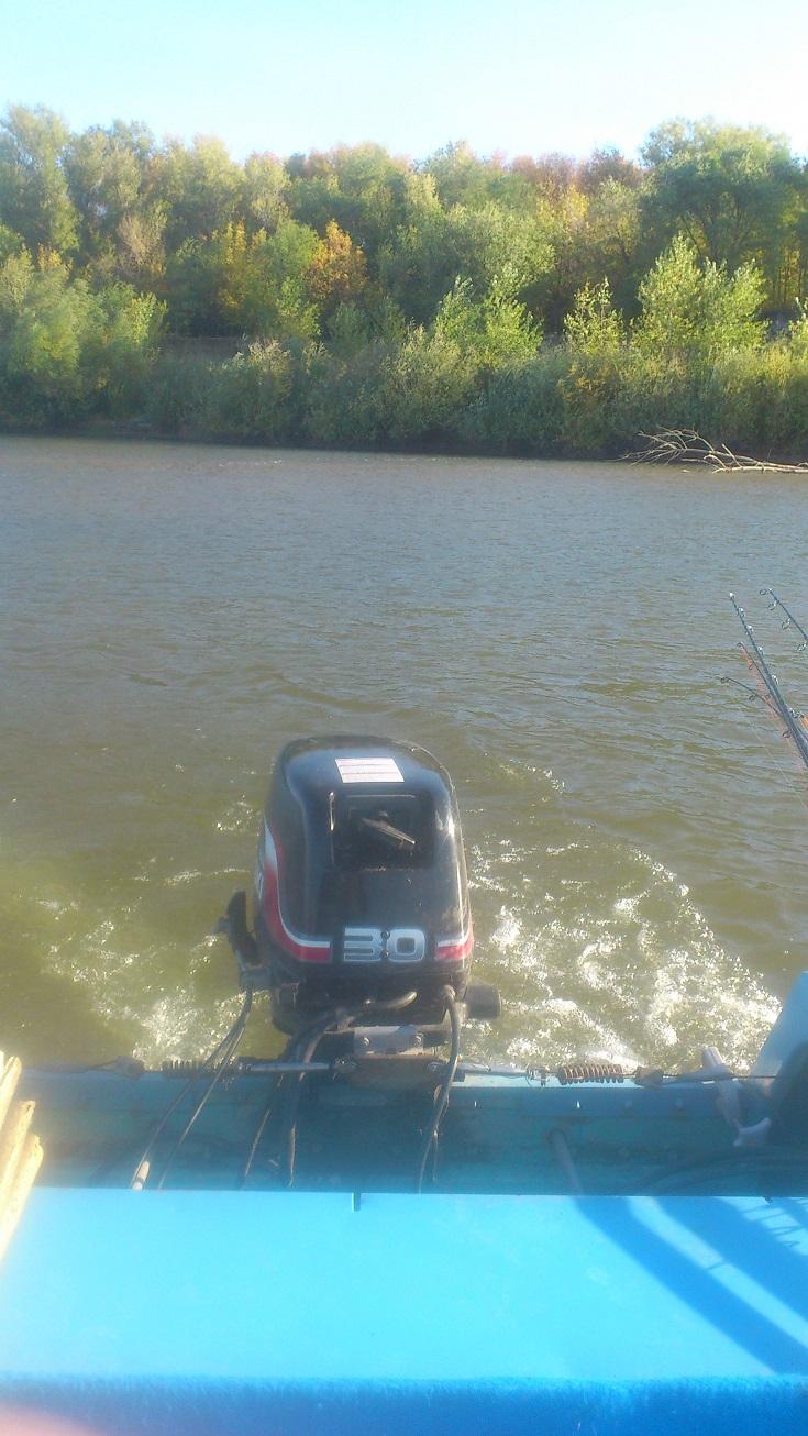 как я ездил на катере на рыбалку