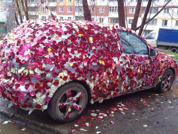 Подарок необычный для машину