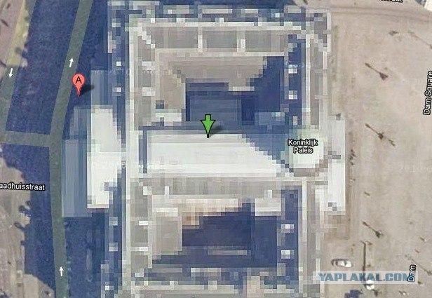 10 мест запрещённых для просмотра на Google Maps