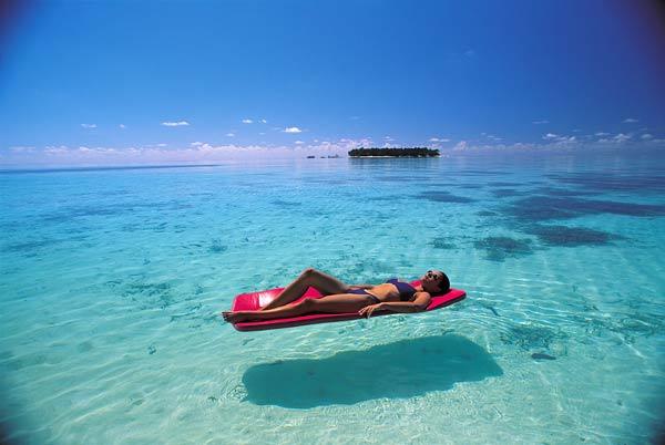 Мальдивы. Обратная сторона.