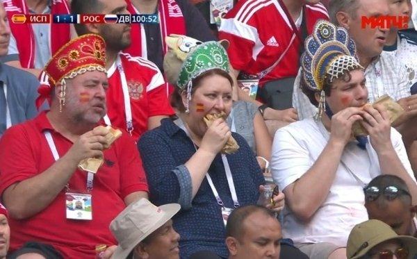 «Фанатов в кокошниках» назвали талисманами сборной и пригласили на матч Россия - Хорватия
