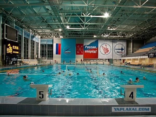 В петербургские бассейны слили 100 миллионов