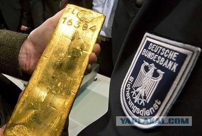 Странное возвращение немецкого золота из