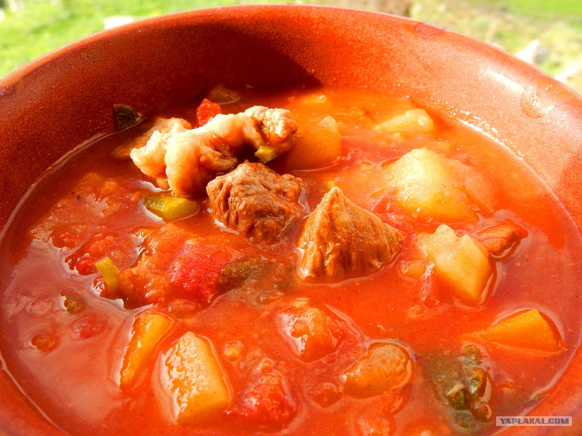 Суп томатный из говядины рецепт с пошагово