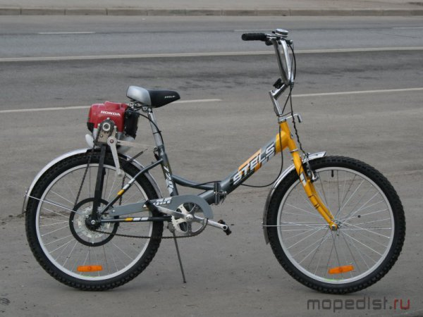 Как сделать для велосипеда мотор