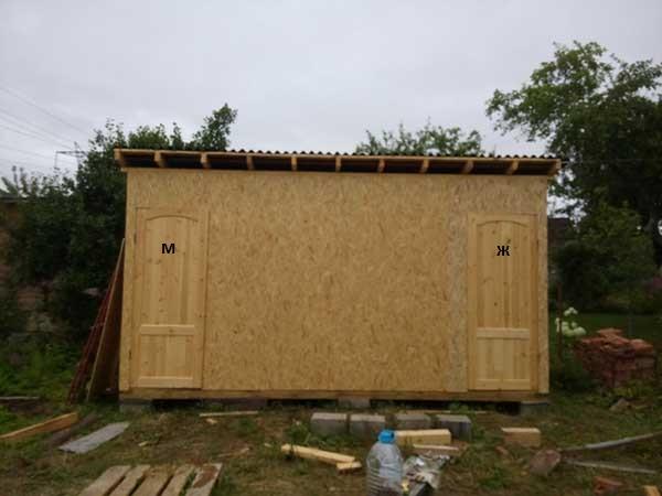 Как построить сарай своими руками - строительство 62