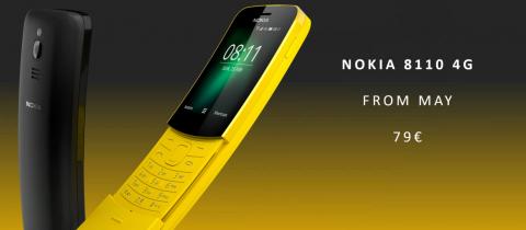 Nokia возвращает 8110!