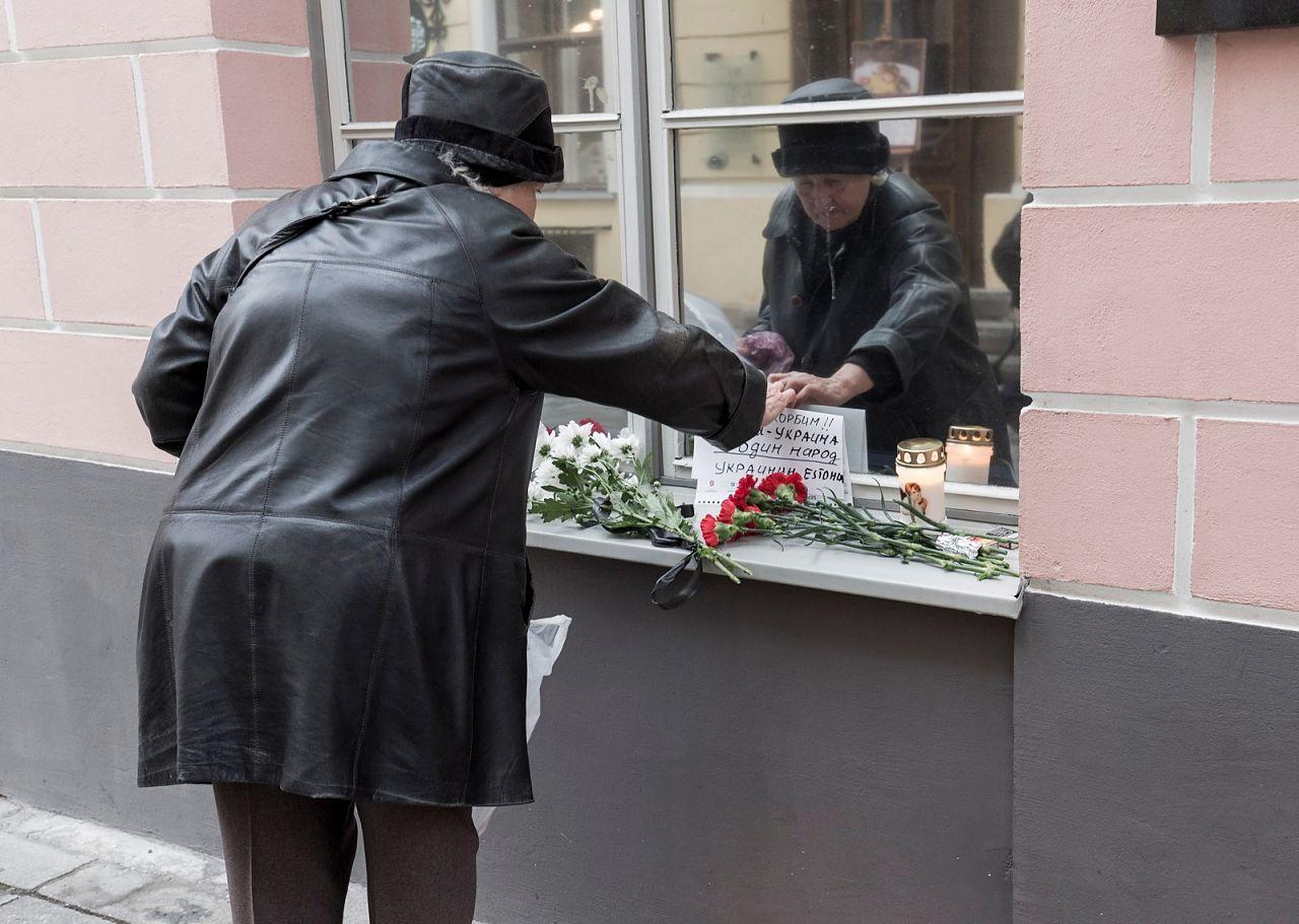 Жительница  Таллина: «Слава Путину! Слава России!