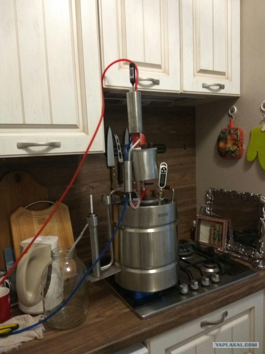 Как сделать из нержавейки самогонный аппарат