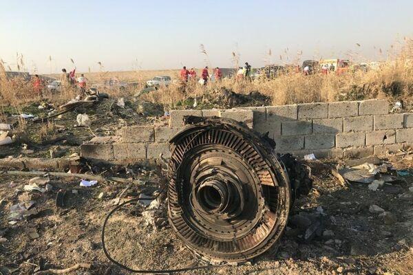 Украинский самолет был сбит двумя иранскими ракетами российского производства