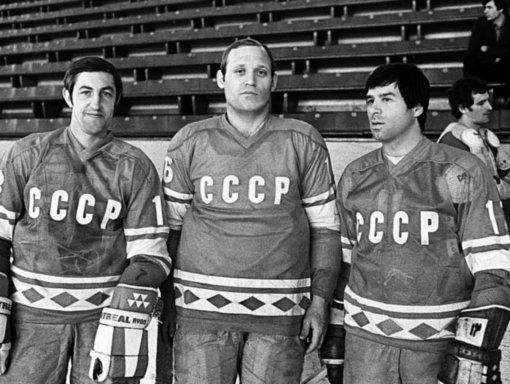 Легендарный хоккеист Владимир Петров.