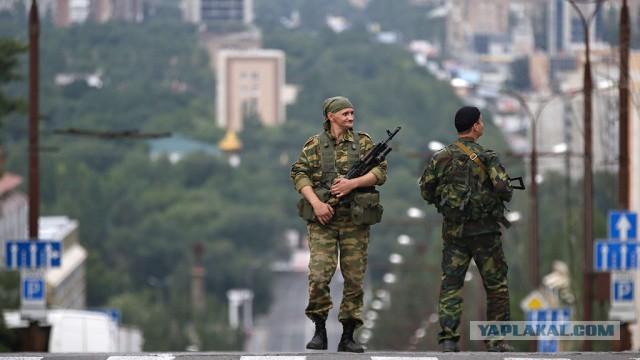 Сотни милиционеров перешли на сторону ДНР