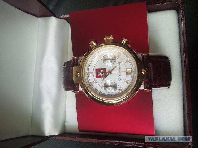 Часы губернаторские (наградные)