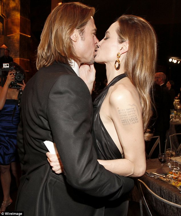 Тили-тили-тесто или публичный поцелуй с Бредом