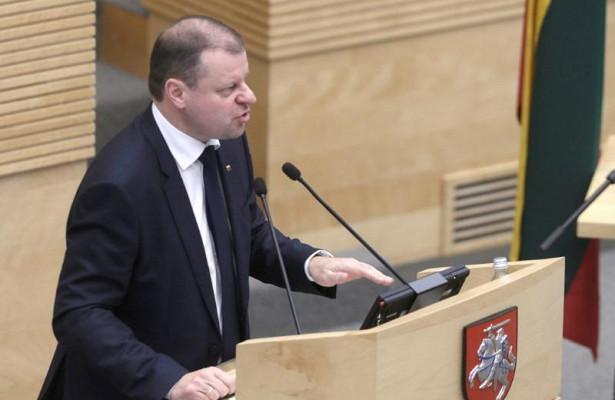 Премьер Литвы заявил онеобходимости начать восстанавливать контакты сРоссией в2018 году