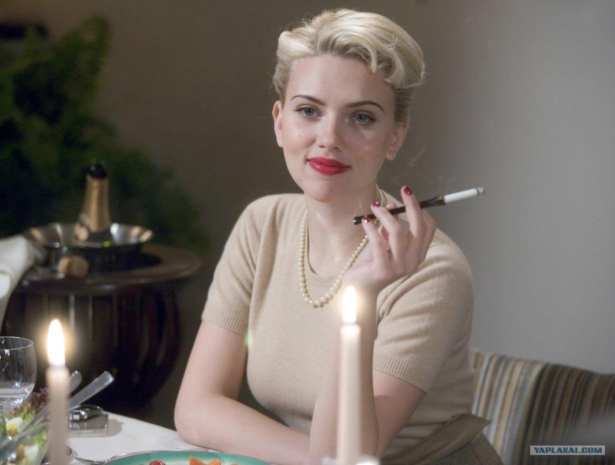 Дама с сигаретой секс