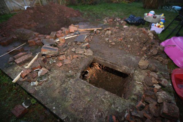 Британка нашла бункер Второй мировой войны на заднем дворе своего дома
