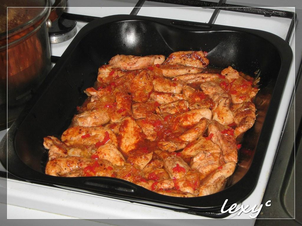 Блюдо куриное филеы